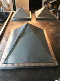 Formed elements ready for finish